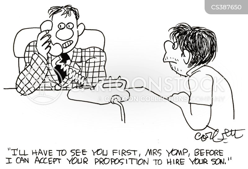 unkempt cartoon