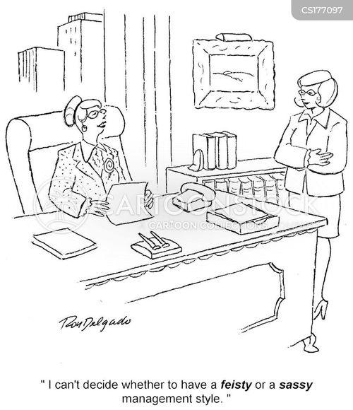 feisty cartoon