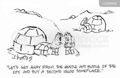 second home cartoon