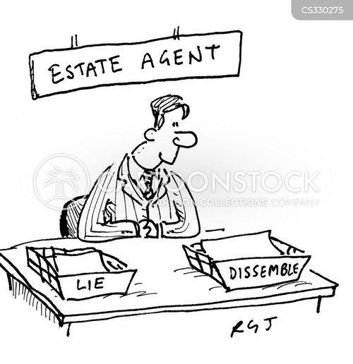 buying property cartoon