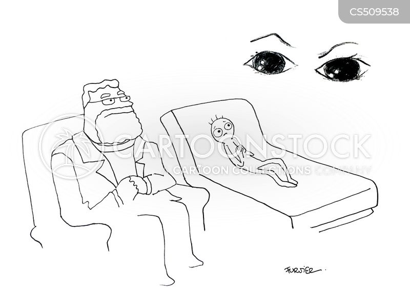 evil eye cartoon