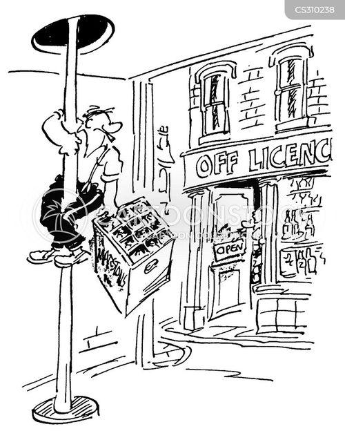 fire station cartoon