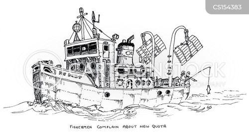 quota cartoon