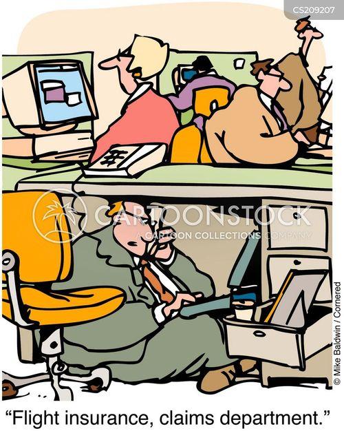 insurer cartoon