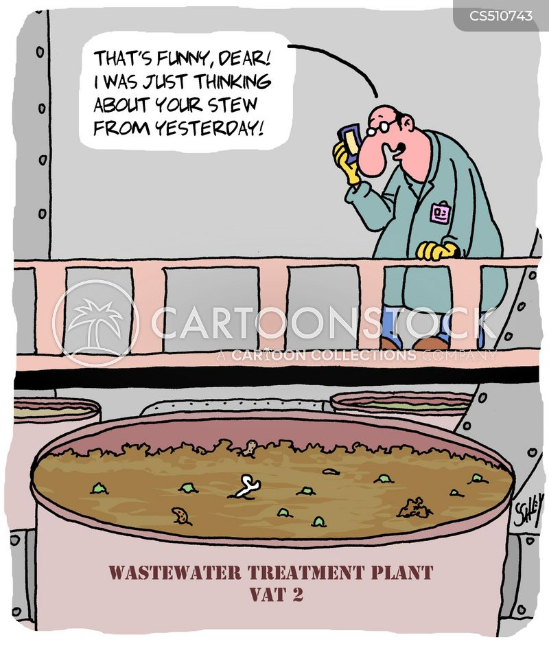 wastewater cartoon