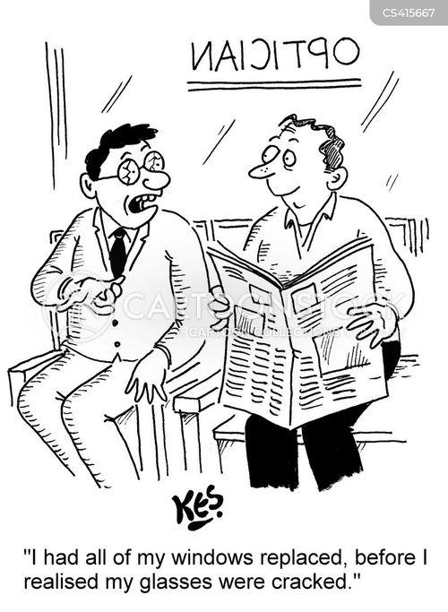 ophthalmic cartoon