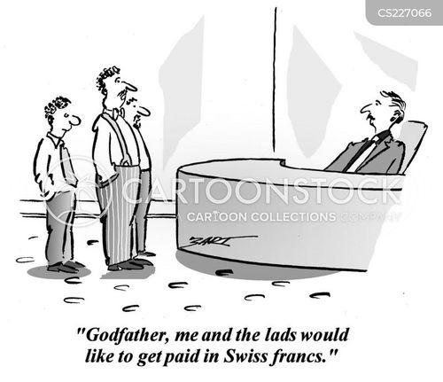 godfather cartoon