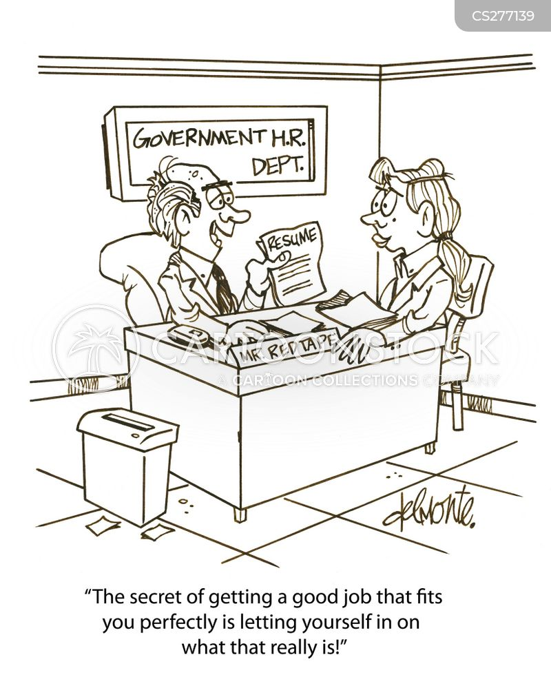 perfect job cartoon