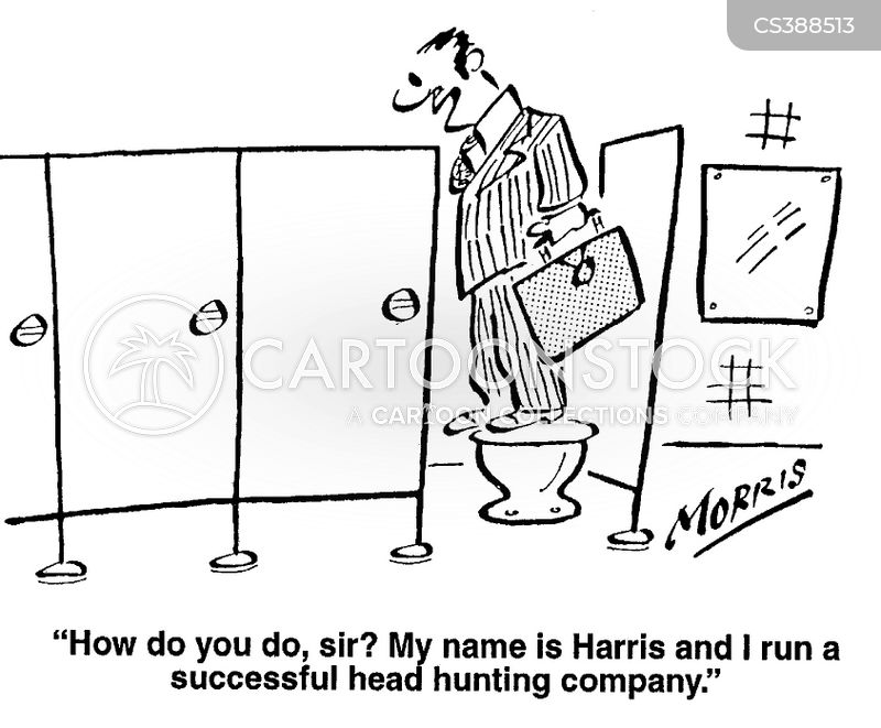 Headhunting Companies Cartoons and Comics - funny pictures from ...