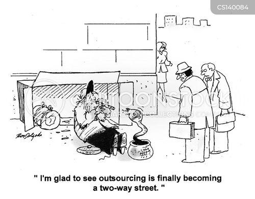 sourcing cartoon