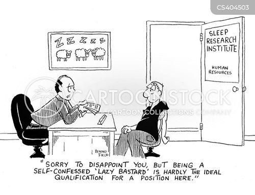 sleep lab cartoon