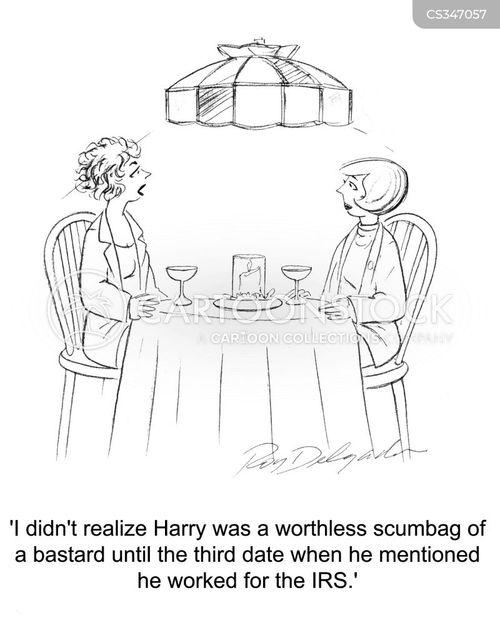 scumbags cartoon