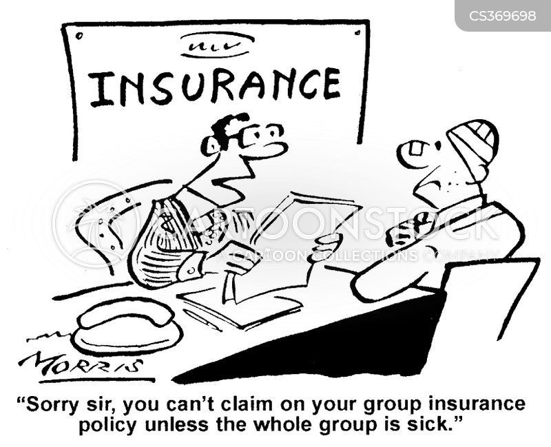 Group Insurance Cartoons And Comics Funny Pictures From Cartoonstock