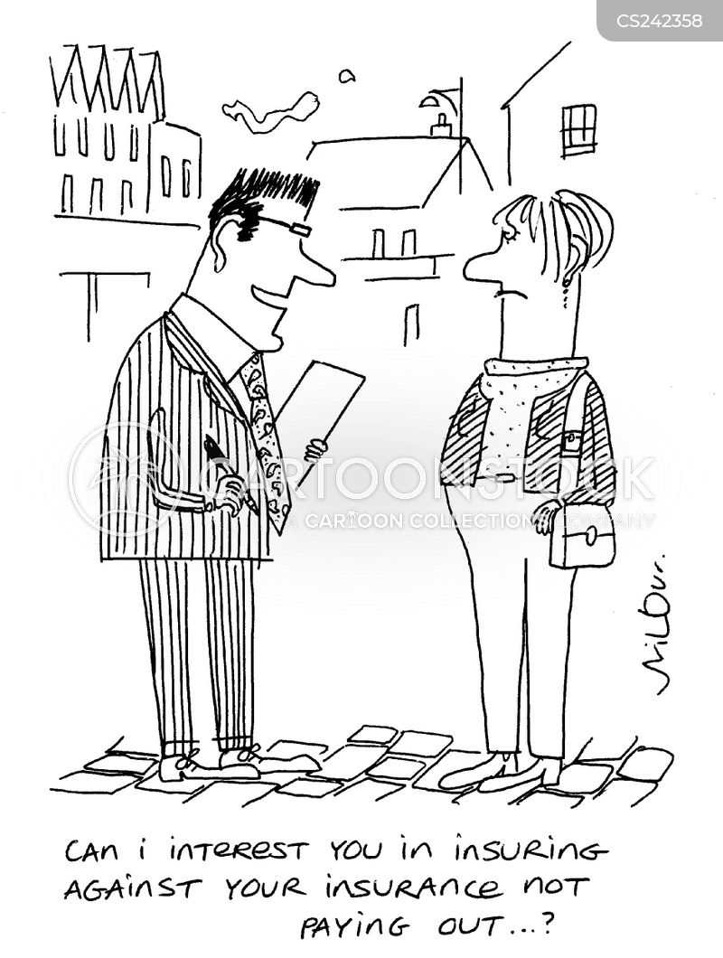 Insurance Pay-out Cartoons and Comics - funny pictures from CartoonStock