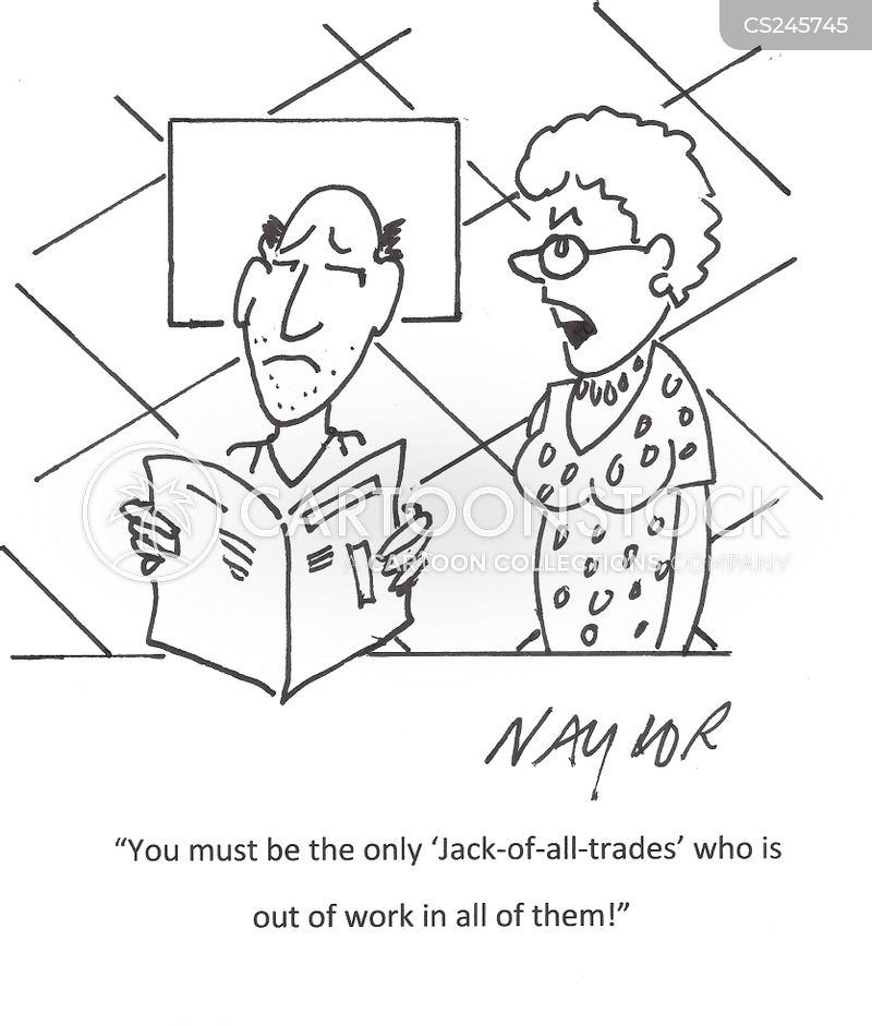 jack of all trades cartoons and comics funny pictures from