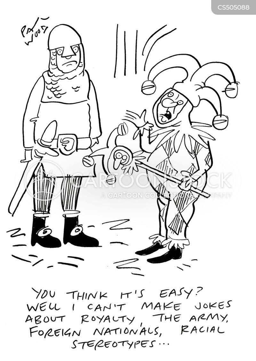 royal jester cartoon
