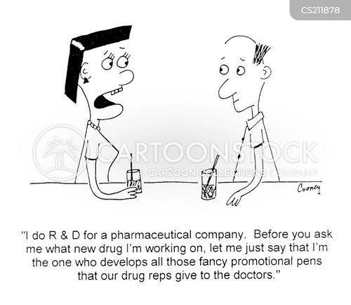 r and d cartoon
