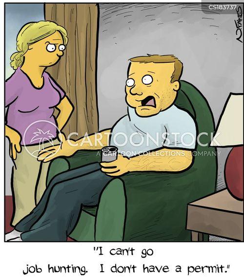 job hunters cartoon