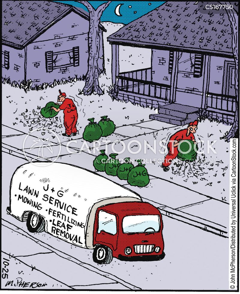 lawns cartoon