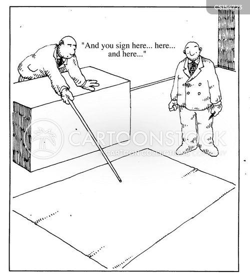 contract law cartoon
