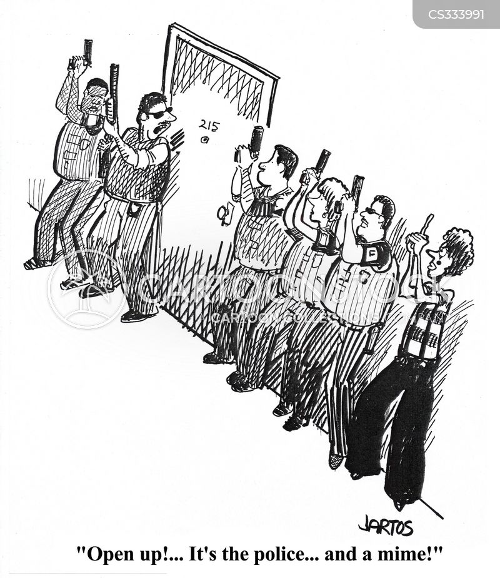 swat team cartoon