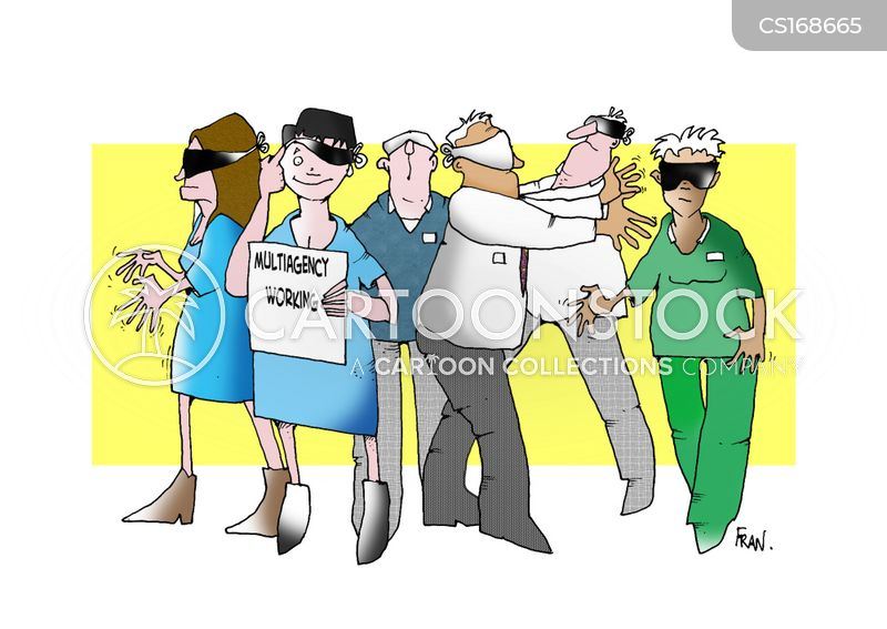 blindfolds cartoon