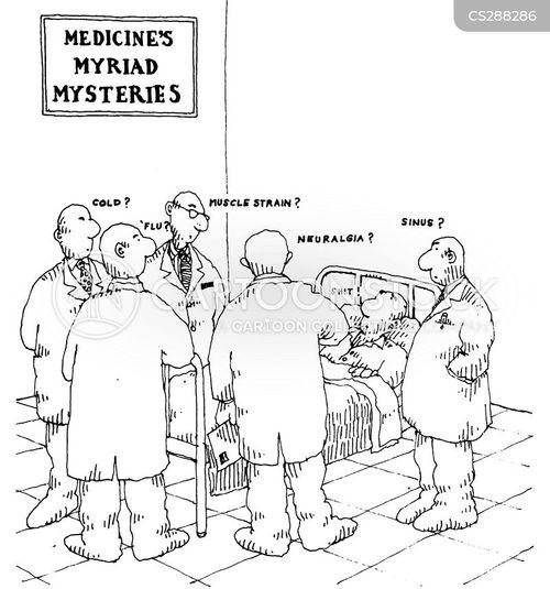 sinus cartoon