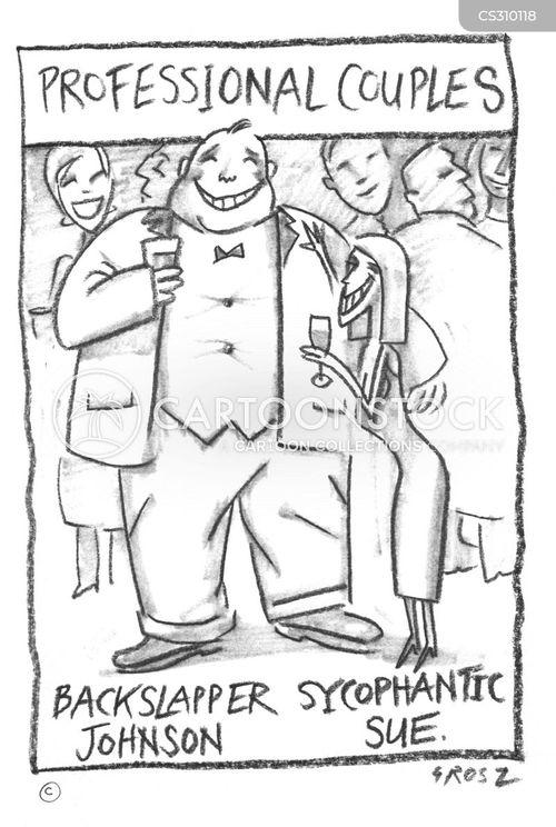 sychophant cartoon