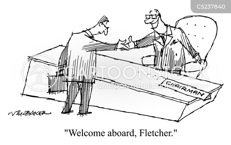 welcome aboard cartoon