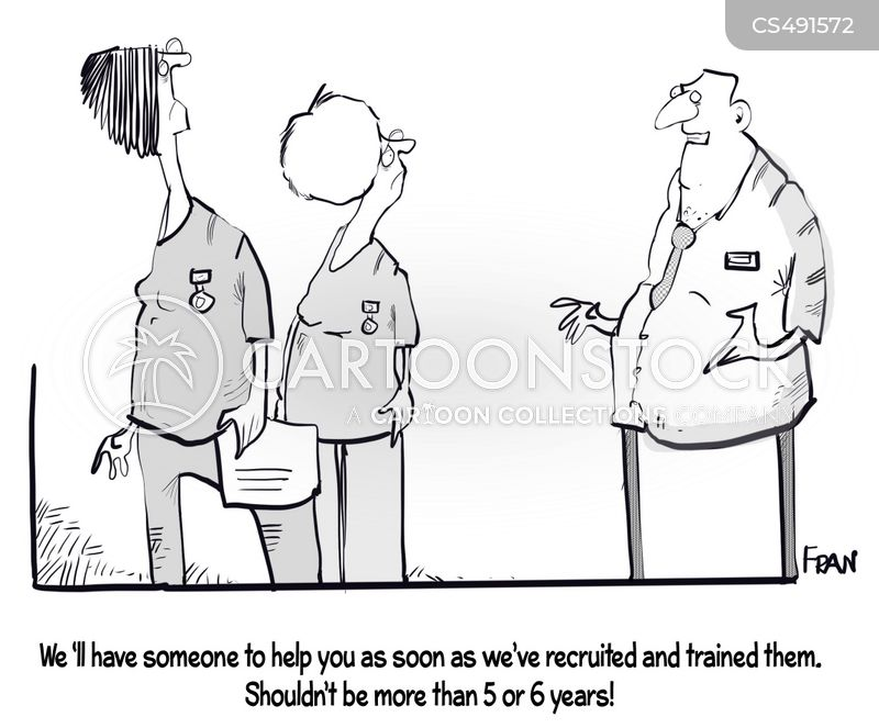 nursing shortages cartoon
