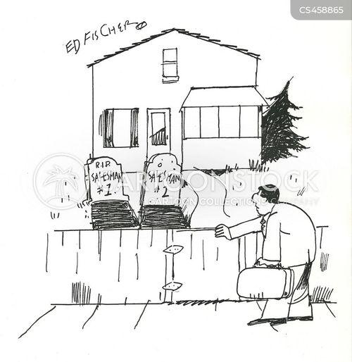 no soliciting cartoon