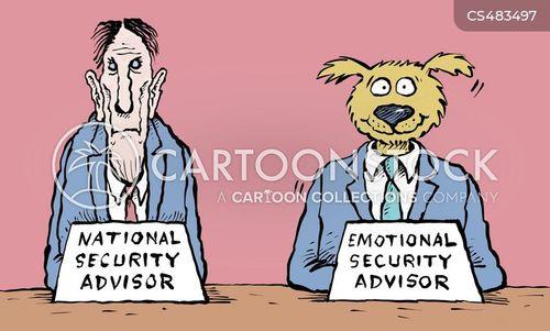 national security advisor cartoon