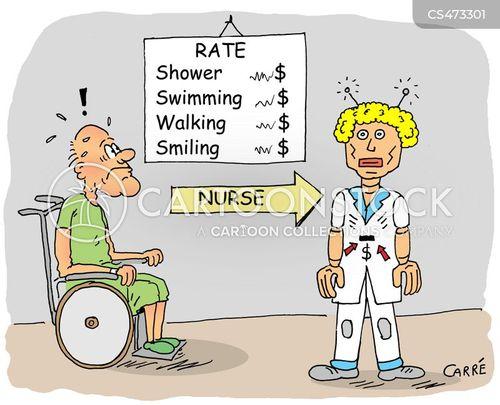 healthcare systems cartoon