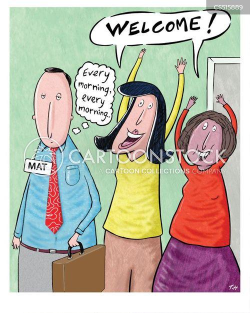 office jokes cartoon