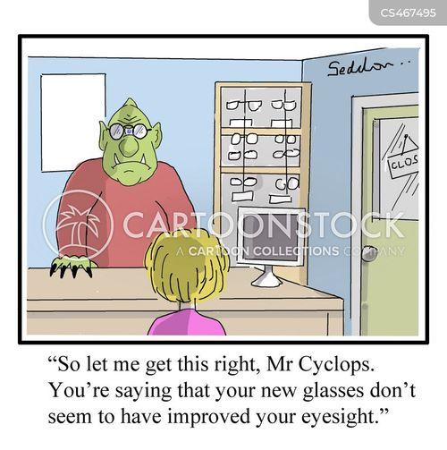 cyclop cartoon