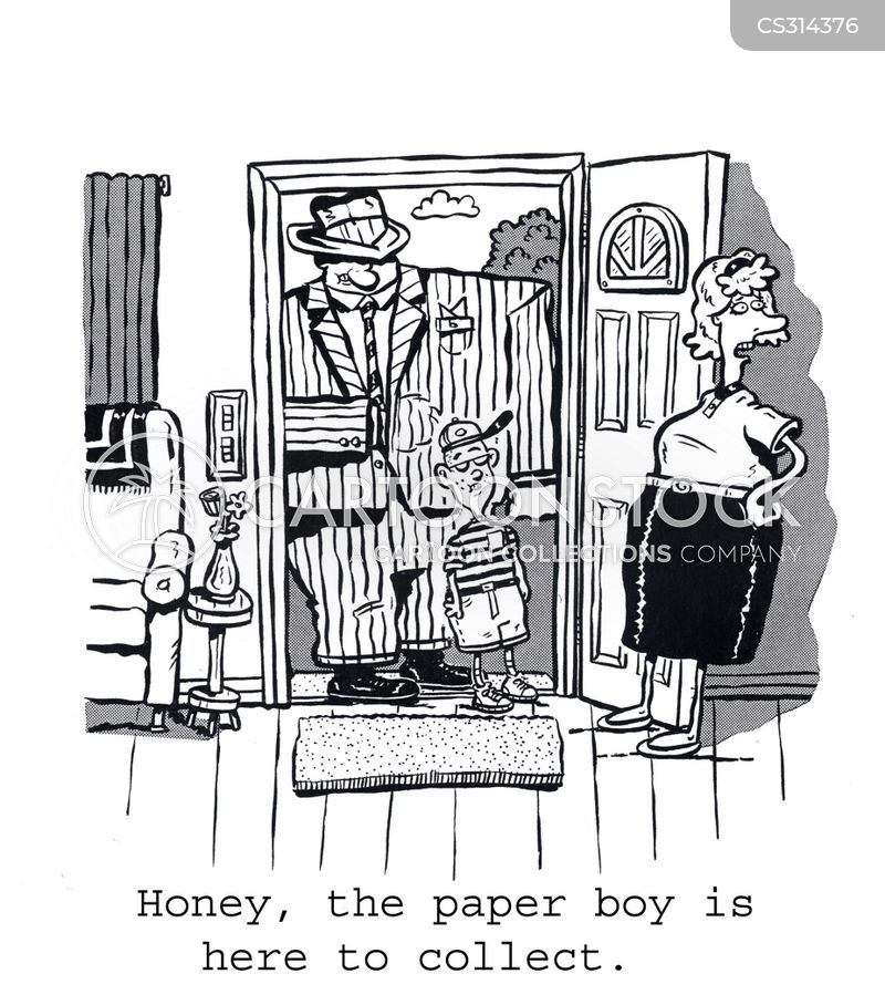 paper boys cartoon