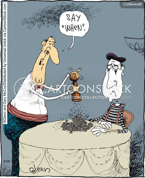pepper shakers cartoon