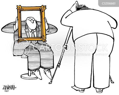 portrait photographers cartoon