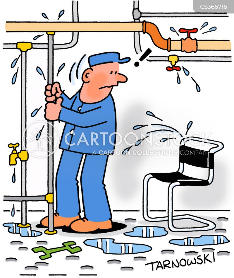 Leaking Pipe Cartoons And Comics Funny Pictures From