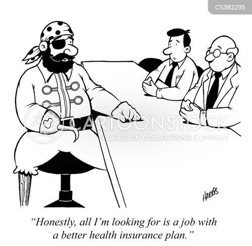 insurance plan cartoon