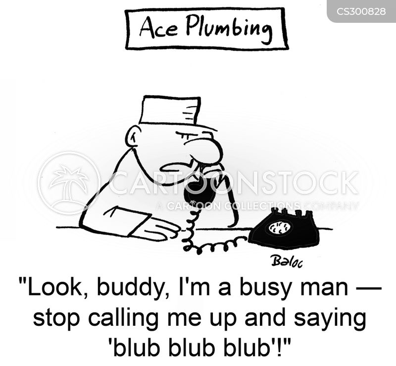 busy man cartoon