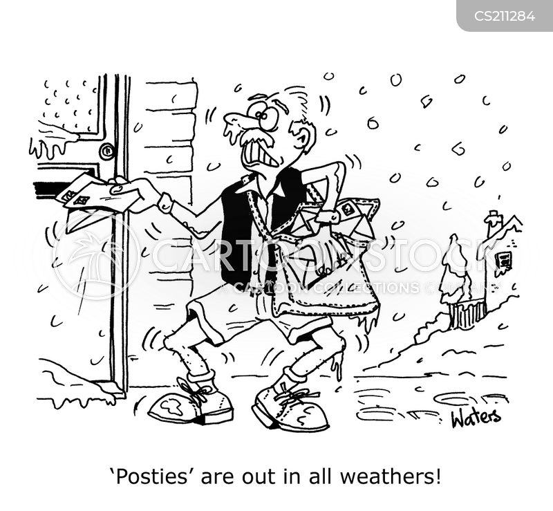 freezing conditions cartoon