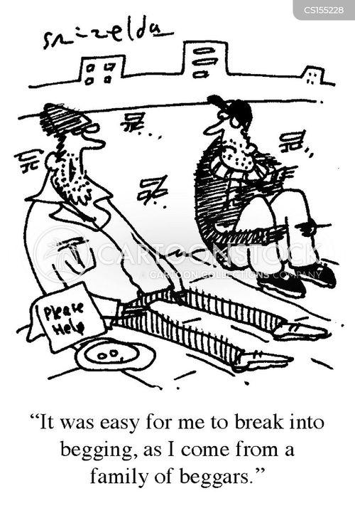 poorness cartoon