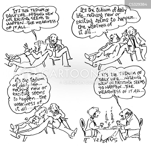 weariness cartoon