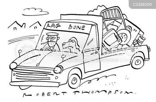 rag and bone man cartoon