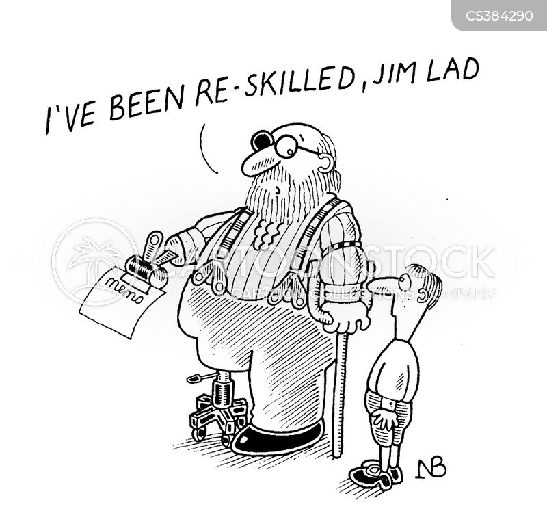 new career cartoon