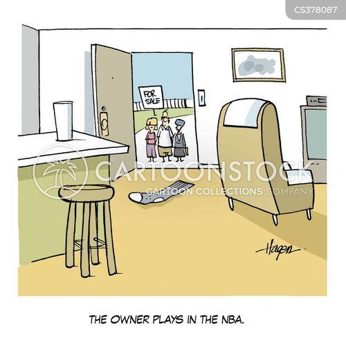 eestate agents cartoon