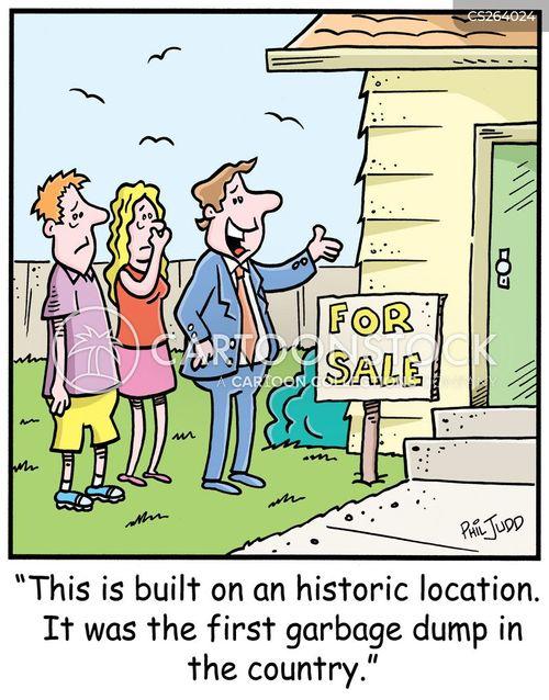 historic site cartoon