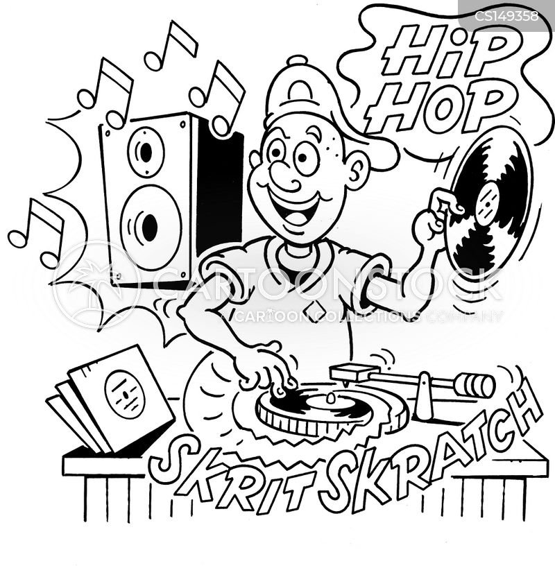 Playing Records Cartoons And Comics Funny Pictures From