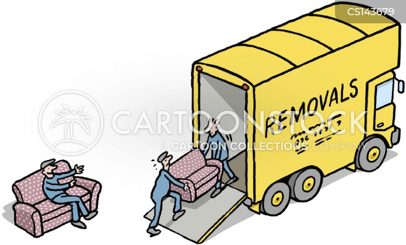 Removal Van Cartoon 18 Of 28